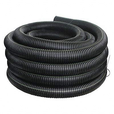Advanced Drainage Systems 04510100 Solid Singlewall Pipe, 4'' x 100'