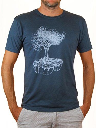 Life-Tree Fairwear Bambus Men Denim Blue Birds Island Aus Baumbusviskose und Bio-Baumwolle von