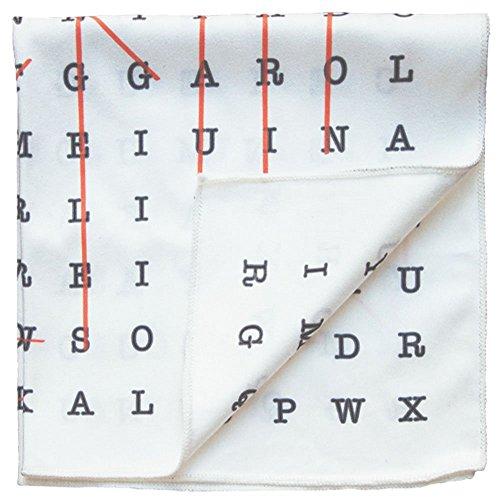 Price comparison product image Declan 12.2 Inch Microfiber Pocket Square,  Handkerchief,  Cleaning Cloth (Ellis)