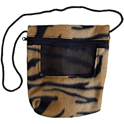 Bonding Carry Pouch (Tiger) for Sugar Gliders and small pets