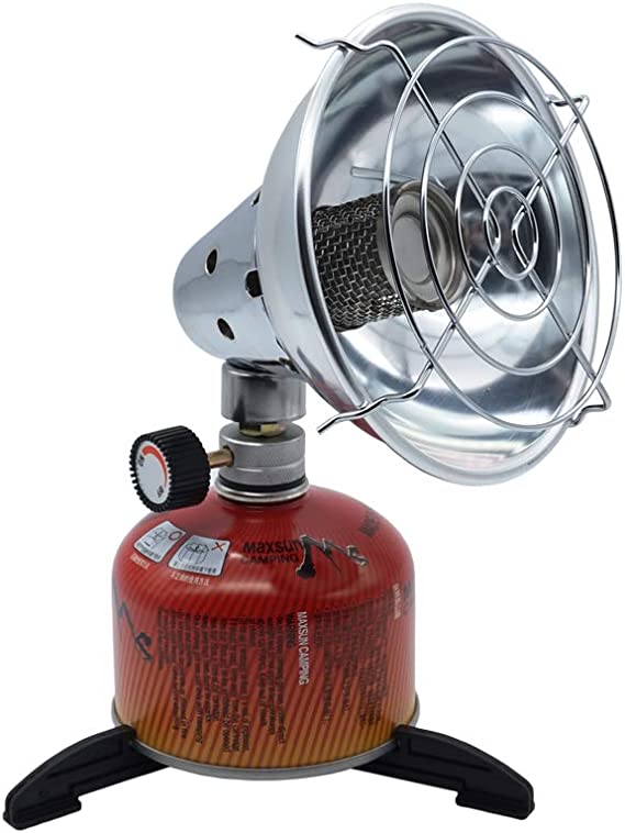 Gas Refills Portable Free Standing Outdoor Camping Fishing Butane Gas Heater
