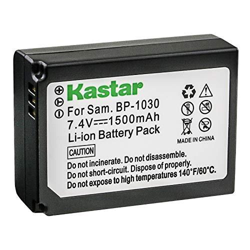 Kastar Battery for Samsung BP1030, BP1030B, BP1130, ED-BP1030 and Samsung NX200, NX210, NX300, NX300M, NX1000, NX1100, NX2000 Cameras (Best Price Samsung Nx300)