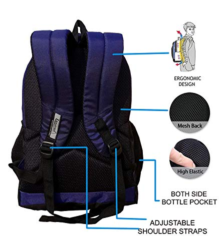 ZAmaizoom Bags 30 Ltrs Laptop Bags-Waterproof Laptop Bag for Men Women Boys Girls/Office School College Teens , Students with Free RAIN Cover