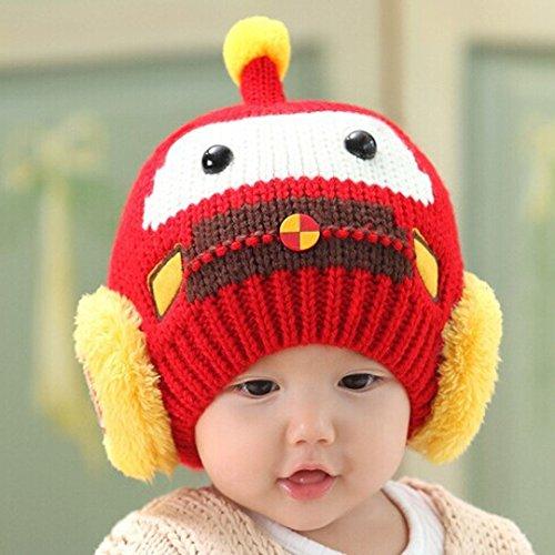 Unique Chapeau Taille Bébé fille Aisi Red wItzdBBq