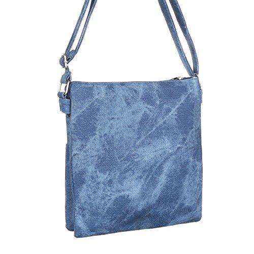 Ital-DesignSchultertasche Bei Ital-design - Bolso de hombro Mujer azul