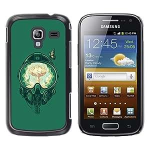 Be Good Phone Accessory // Dura Cáscara cubierta Protectora Caso Carcasa Funda de Protección para Samsung Galaxy Ace 2 I8160 Ace II X S7560M // A Bomb Fighter