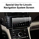 2016-2017 8-Inch Lincoln Continental Navigator MKZ MKC MKX Car Navigation Screen Protector, LFOTPP Clear TEMPERED GLASS Infotainment Display In-Dash Center Touch Screen Protector