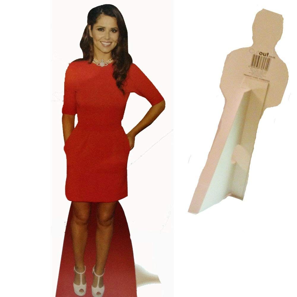 Cherl Cole Celebrity Desktop Cardboard Cutout Real Stand Up