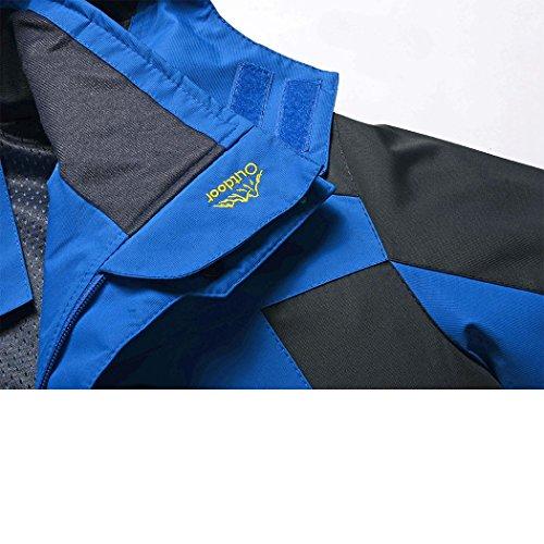 Giacche Grossa Sezione 2017 Nuovo Taglia Vento Dehutin Giacca Prova Rapida Asciugatura Di Blu Attrezzatura Cappotto A Sottile XxUZ1Z