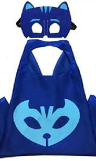 Honey Badger Brands Dress Up Comics Cartoon Superhero Costume with Satin Cape and Matching Felt Mask