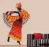 Beautiful Arabian Dancer large HD wall decoration vinyl sticker for livingroom, bedroom, kids room