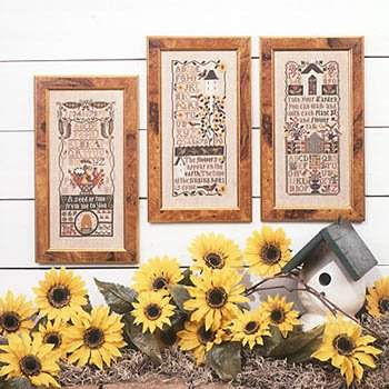 (Garden Samplers (2nd Edition) Cross Stitch Chart and Free)