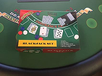 Amazon.com: BlackJack Conjunto Estilo Incluye: layout-shoe ...