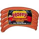 Hoffy Hollywood's Original Natural Casing Beef Frankfurters - 6 Packages