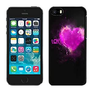 LJF phone case iphone 5/5s Case 53 Valentine's Day Gift Phone Cases for Lovers Cheap Phone Covers