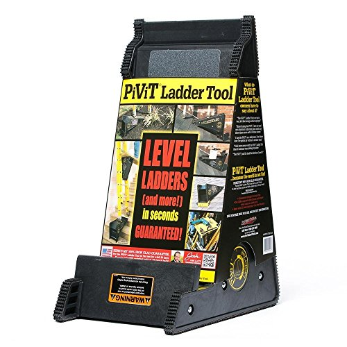 (ProVisionTools, Inc. PiViT LadderTool Extension Ladder, Leveling Tool, and Stable Platform for All Surfaces)