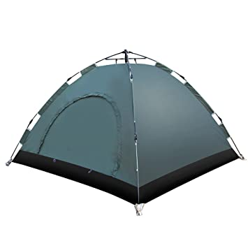 EverKing Instant Family Tent 3- 4 Person Automatic Pop Up Tent Waterproof for Outdoor Sports  sc 1 st  Amazon.com & Amazon.com : EverKing Instant Family Tent 3- 4 Person Automatic ...
