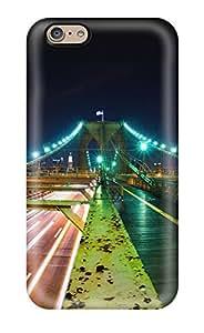 Iphone 6 Case Cover Brooklyn Bridge Nights Case - Eco-friendly Packaging 9398133K67876093