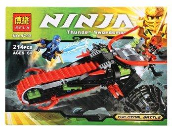 Amazon.com : BELA 9792 214-Piece Ninja Warrior Motorcycle ...
