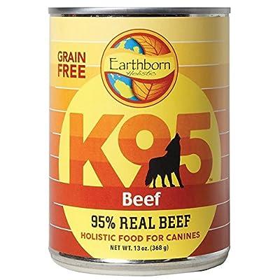 Earthborn Holistic 34846723427 K95 Lamb Grain Free 95 Percent Meat Protein Canned Dog Food44; 13 oz