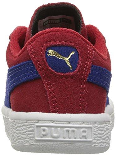 Puma Kids Suede Sneaker Barbados Cherry/Mazarine Blue