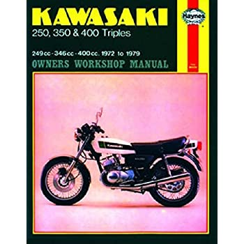 1972-1979 Kawasaki S1 S2 S3 KH 250 350 400 HAYNES REPAIR MANUAL