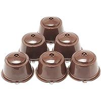 Brbhom doldurulabilir Dolce Gusto kahve kapsül yeniden kullanılabilir Dolce Gusto kahve filtre 3/6fincan, kahve kaşık, fırça ile A019-CO6