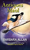 Front cover for the book Antiques Maul by Barbara Allan