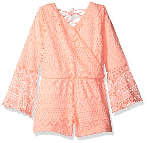 kensie Little Girls' Romper (More Styles Available), 2877 Apricot, 4 by kensie