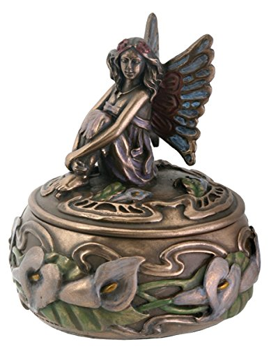 Calla Lily Fairy Jewelry Holder