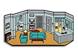 Pinsanity 90's New York Sitcom Apartment Enamel Lapel Pin
