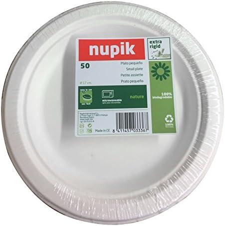 Nupik naturalezaNUPIK platos pequeños Extra rígido, 100 ...