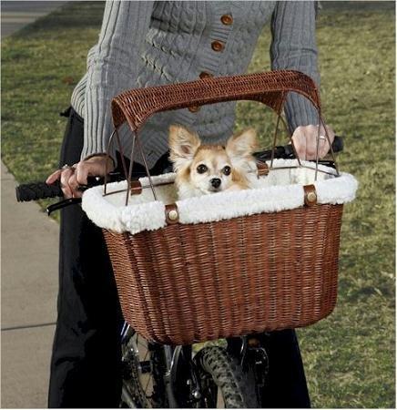 - Solvit Tagalong Pet Bicycle Basket
