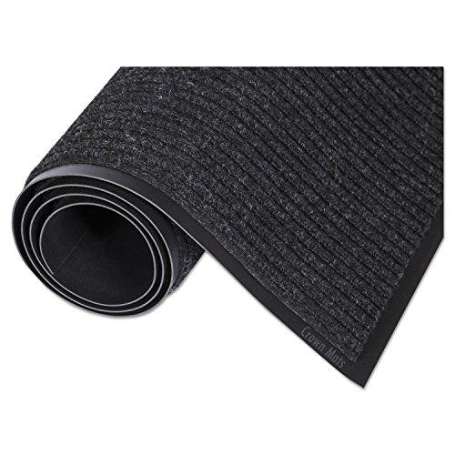 Scraper Mat Charcoal - Crown NR0046CH Needle-Rib Wiper/Scraper Mat, Polypropylene, 48 x 72, Charcoal