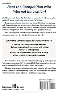 Corporate Entrepreneurship: How to Create a Thriving Entrepreneurial Spirit Throughout Your Company by McGraw-Hill Education