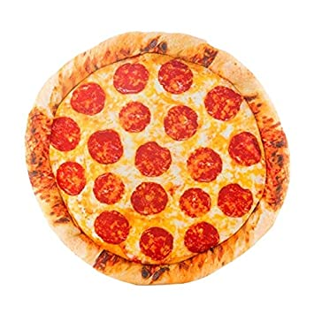 Eurowebb cojín en Forma de Pizza Pepperoni Tacto Terciopelo ...