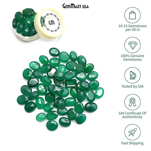 Wholesale 100 + Carats mix Green Onyx GEM MART USA, Loose Faceted Stones, Green Onyx Mix, AAAmazing Cut and Quality, Mix Gems, Mixed Gemstone, Gem Mart Usa Stones Lot by GemMartUSA Loose Gemstone