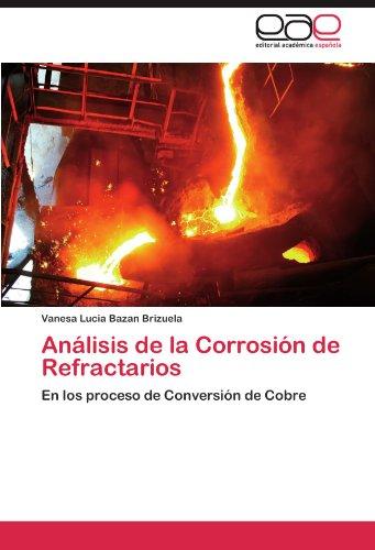 Descargar Libro Analisis De La Corrosion De Refractarios Vanesa Lucia Bazan Brizuela