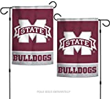 WinCraft NCAA Mississippi State Bulldogs 12.5'' x 18'' Inch 2-Sided Garden Flag Logo