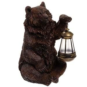 Solar Bear Statue Light