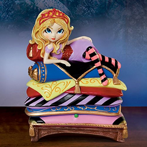 Bradford The Exchange The Princess and The Pea Fairy Tale Fantasies Figurine Collection By Jasmine Becket-Griffith ()