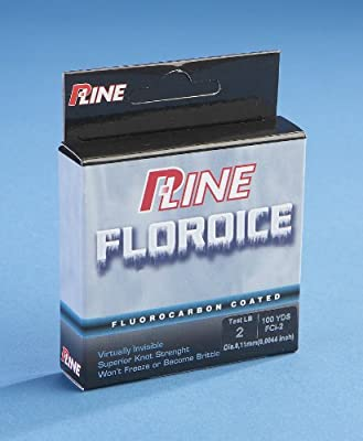 P-line Floroice Clear Fishing Line 100 Yd Spool by P-Line