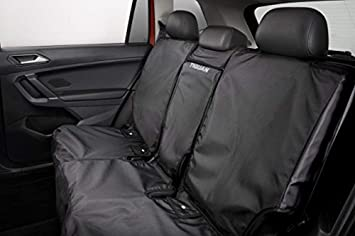 Amazing Volkswagen 2018 2019 Vw Tiguan Rear Black Seat Cover For Second Bench Seats Oem Creativecarmelina Interior Chair Design Creativecarmelinacom