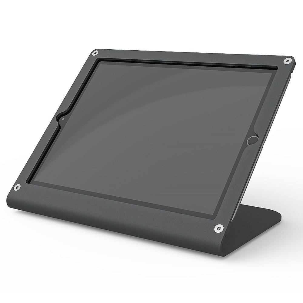 Heckler Design WindFall Prime Secure Point of Sale Stand & Enclosure for iPad Air & 9.7-inch iPad Pro with PivotTable (Black/Grey) by Heckler Design