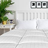 """Cosylifee King Mattress Pad Cover 8-21"""" Deep Pocket Down Alternative Cooling Quilted Mattress Topper"""
