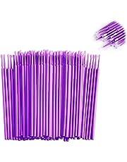 Pack of 50 Pieces Eyelash Swab, Multi-Functional Swab, Applicator Brush Lightweight Eyelash Brush Make-up Brush for Eyelash, Oral, Dental Professional