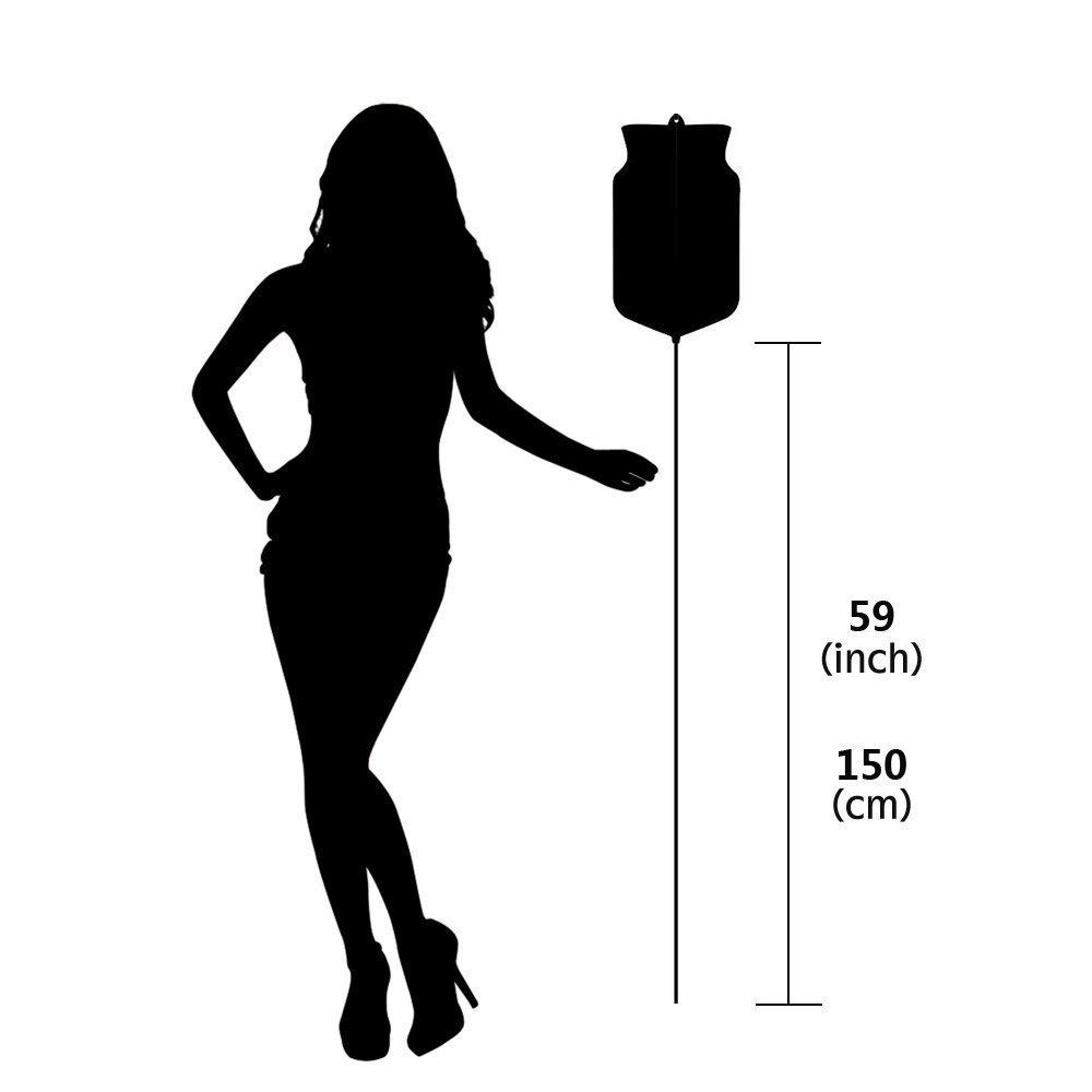Enema Anale, HailiCare 2LSilicón Reutilizable Bucket Enema Bucket Reutilizable Kit con 5 Consejos de Boquilla sin Ftalatos y BPA para Enema de Café Limpieza del Colon Detox aa97f9