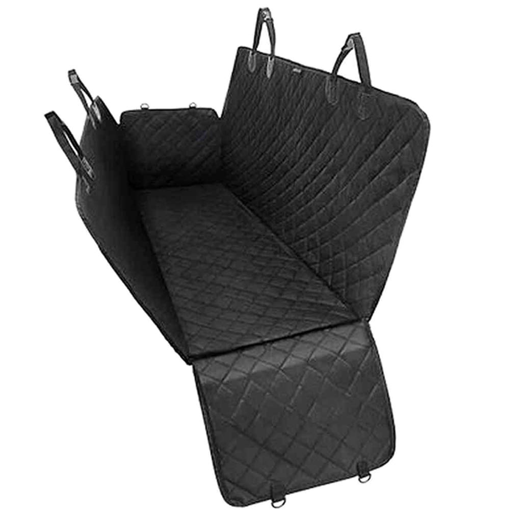 Baoblaze Dog Car Seat Cover Cars, Seat Belt Openings Hammock Dog Accessories