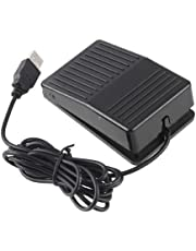 iKKEGOL USB Foot Control Action Switch Pedal Free Driver HID for Keyboard Mouse Game PC Laptop