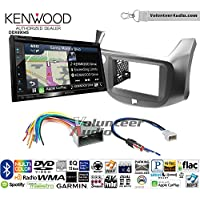 Volunteer Audio Kenwood Excelon DNX694S Double Din Radio Install Kit with GPS Navigation System Android Auto Apple CarPlay Fits 2009-2014 Honda Fit
